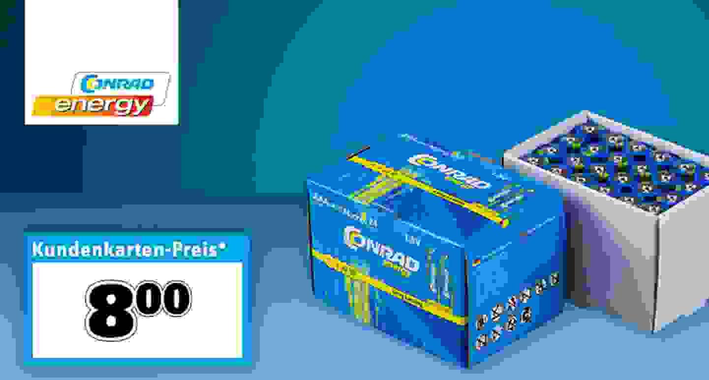 Conrad Energy - Micro (AAA)-Batterien »