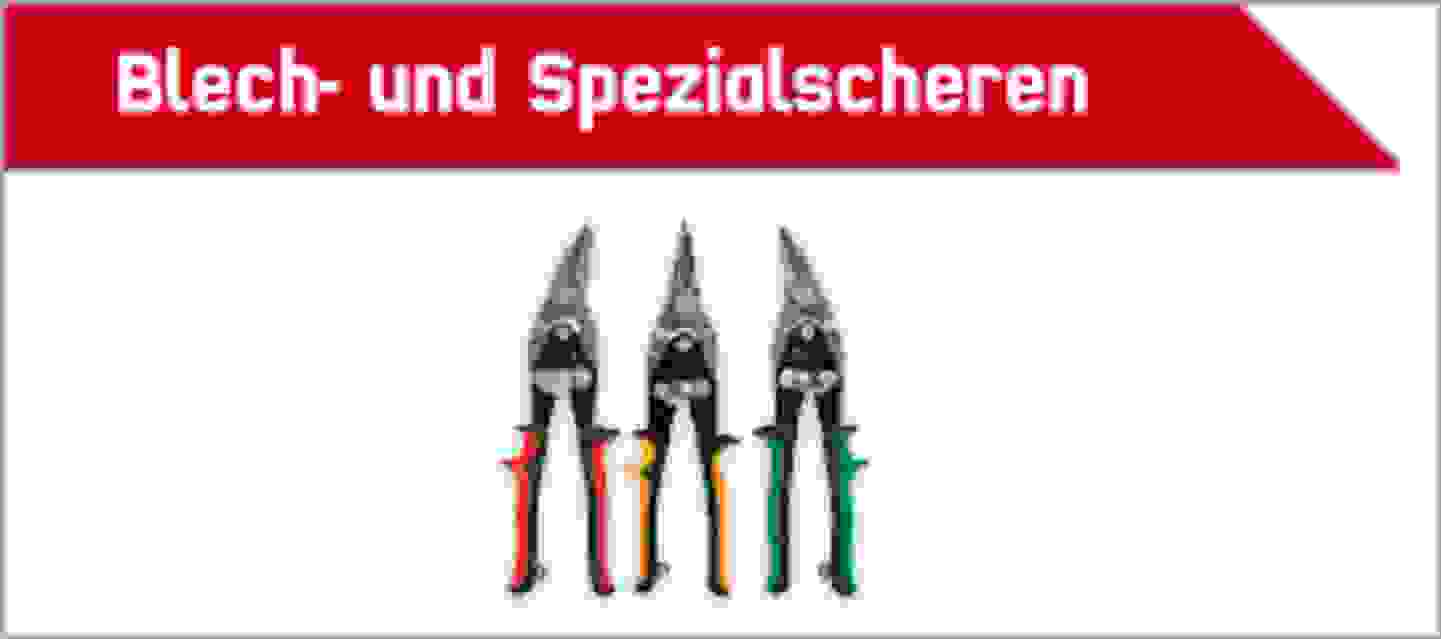 TOOLCRAFT Blech- und Spezialscheren