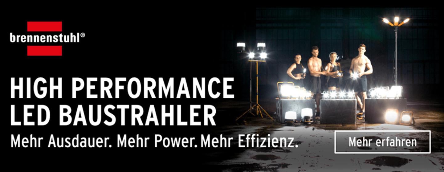 High Performance LED Baustrahler