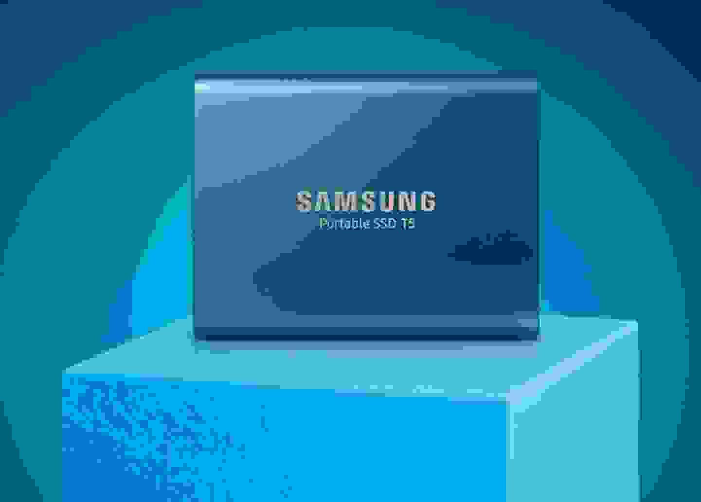 Samsung - Disque dur externe (250 Go) »