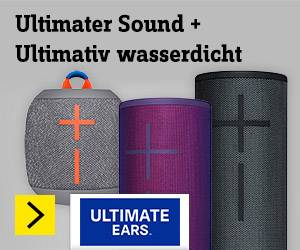 Ultimate Ears Bluetooth Lautsprecher