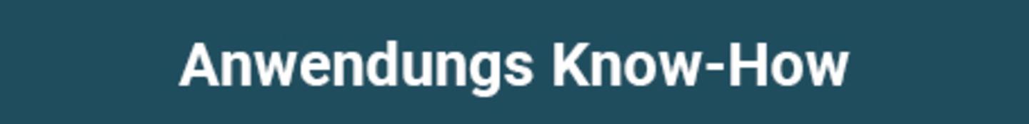 Anwendungs Know-How