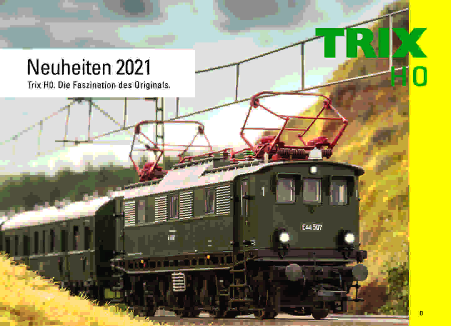 Trix Neuheiten Katalog 2020