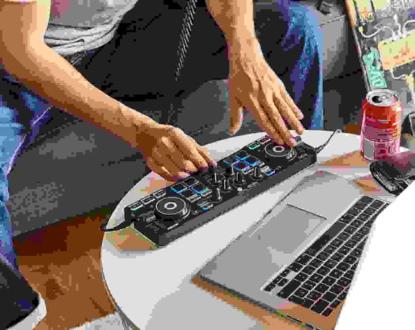 Mixen Sie mit Serato DJ Lite