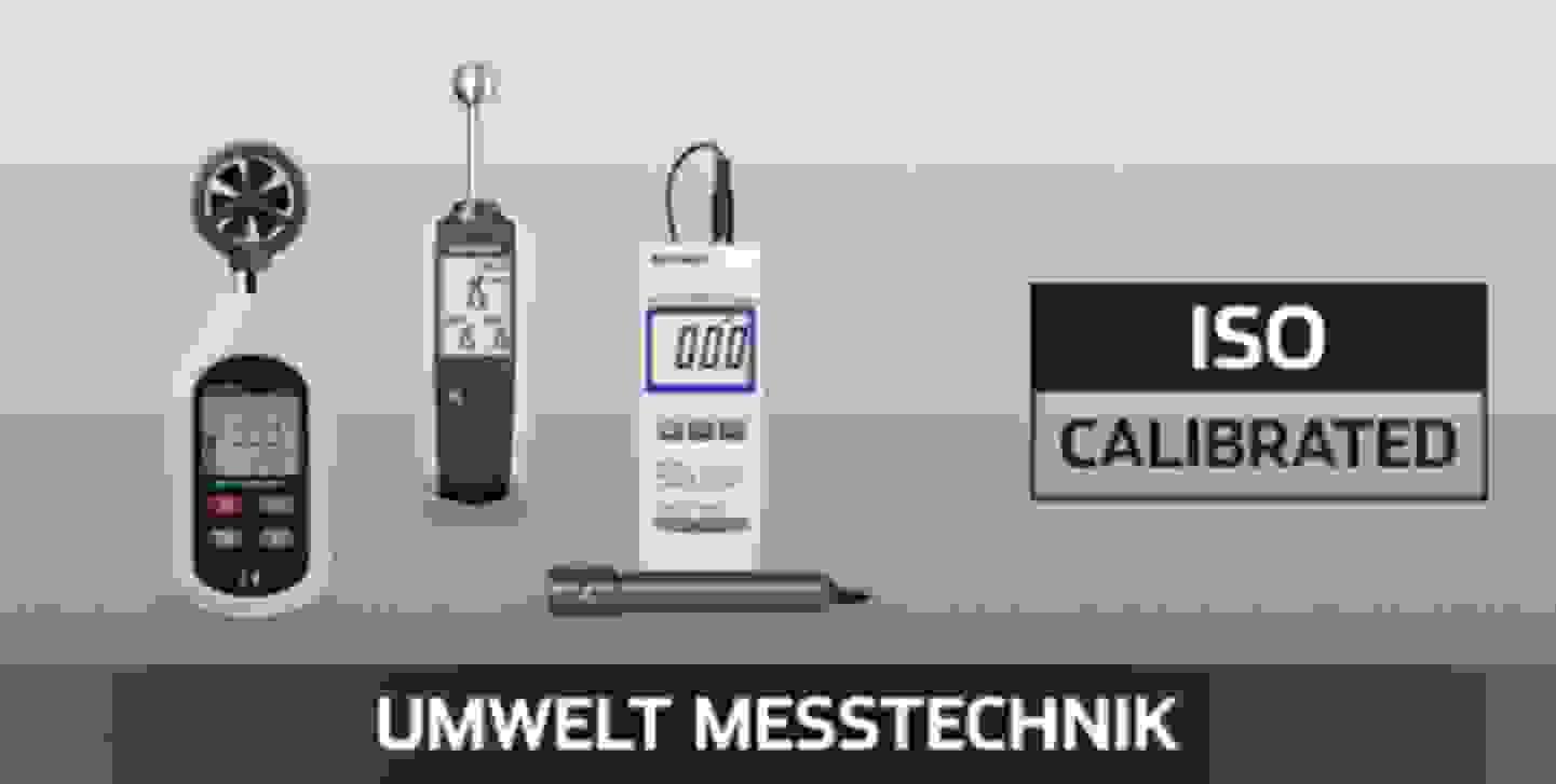 VOLTCRAFT Umwelt Messtechnik ISO kalibriert