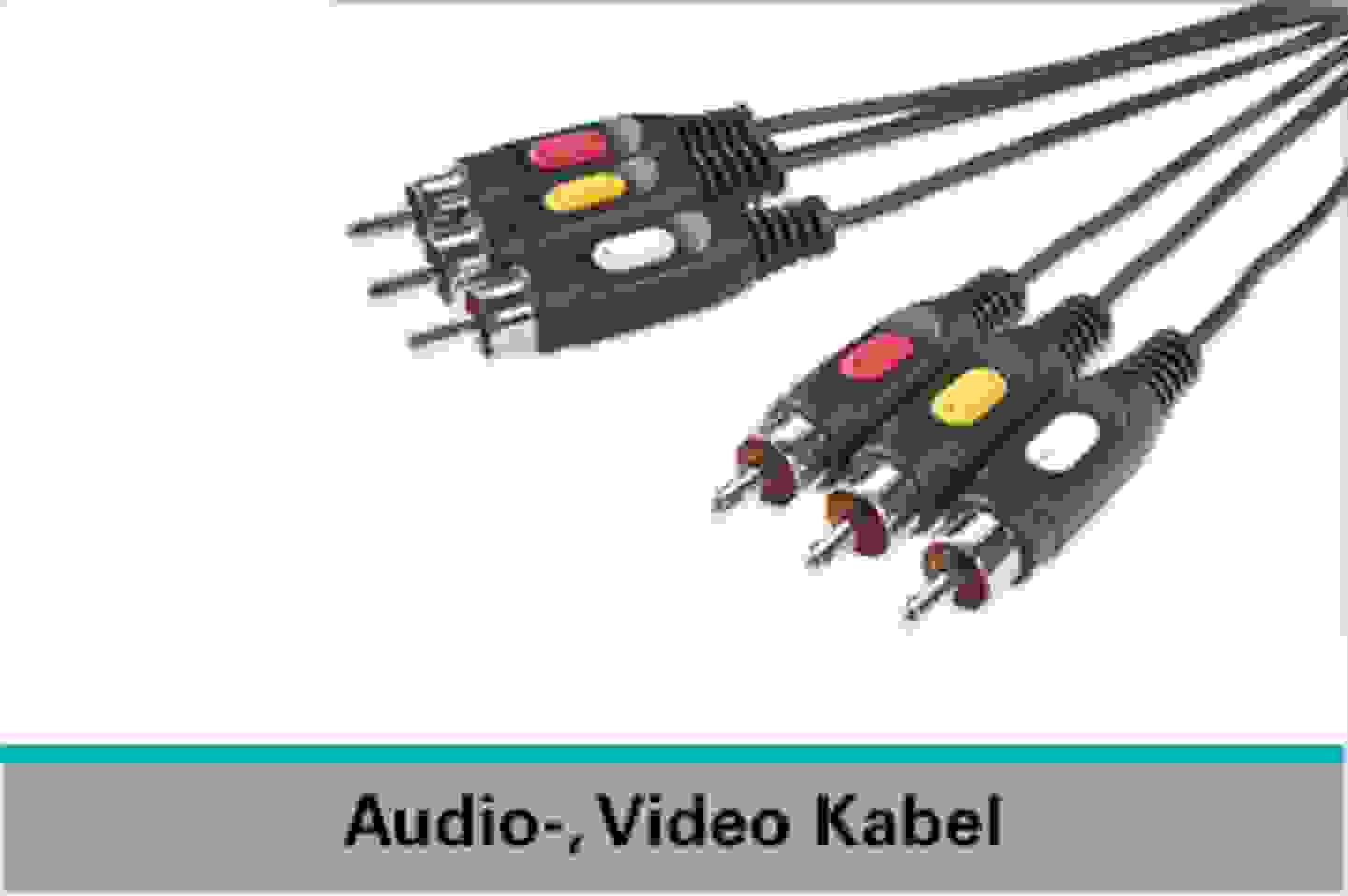 Speaka Professional Audio-, Video-Kabel