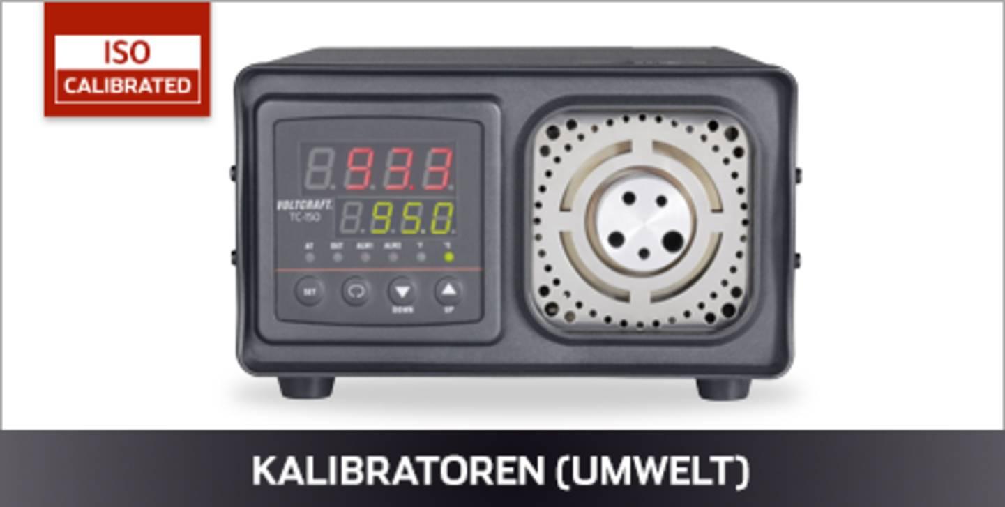 VOLTCRAFT Kalibratoren ISO kalibriert