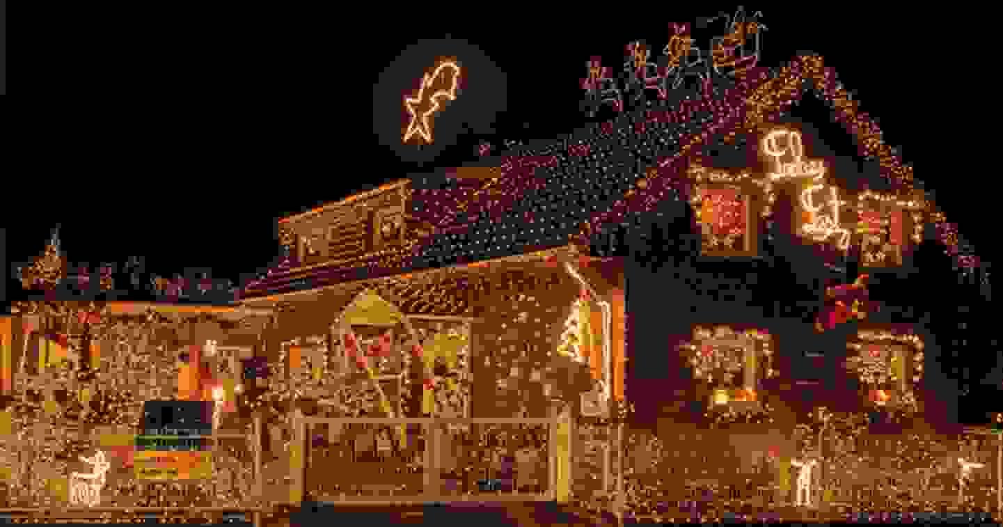 Weihnachtsbeleuchtung für den Aussenbereich