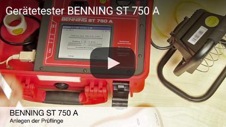 Gerätetester BENNING ST 750 A