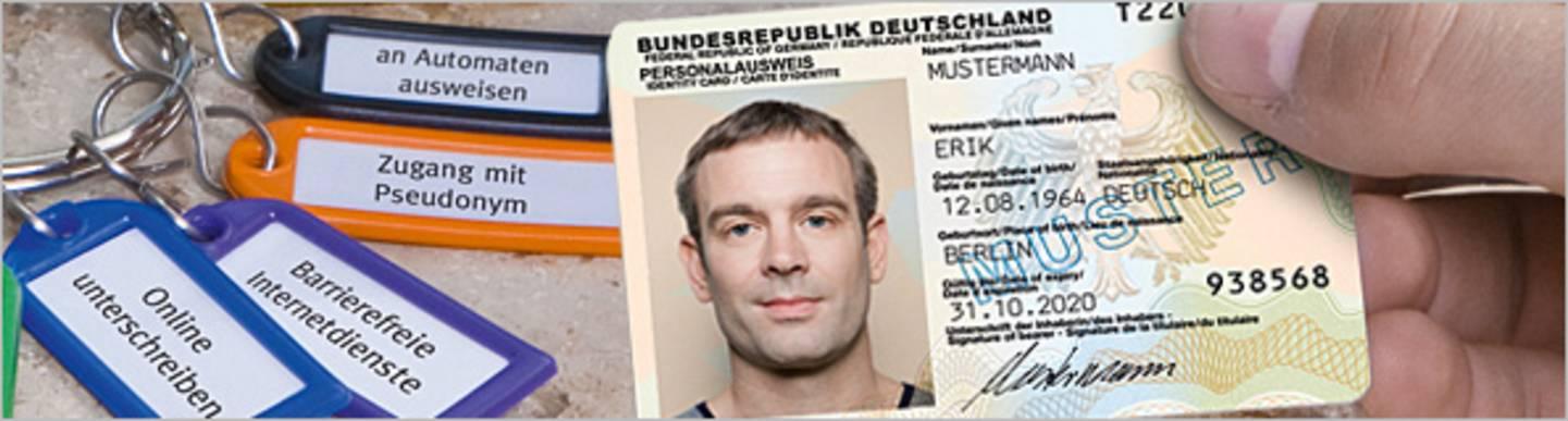 Chip im elektronischen Personalausweis