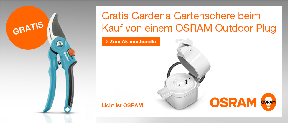 Osram Outdoor Plug Aktion