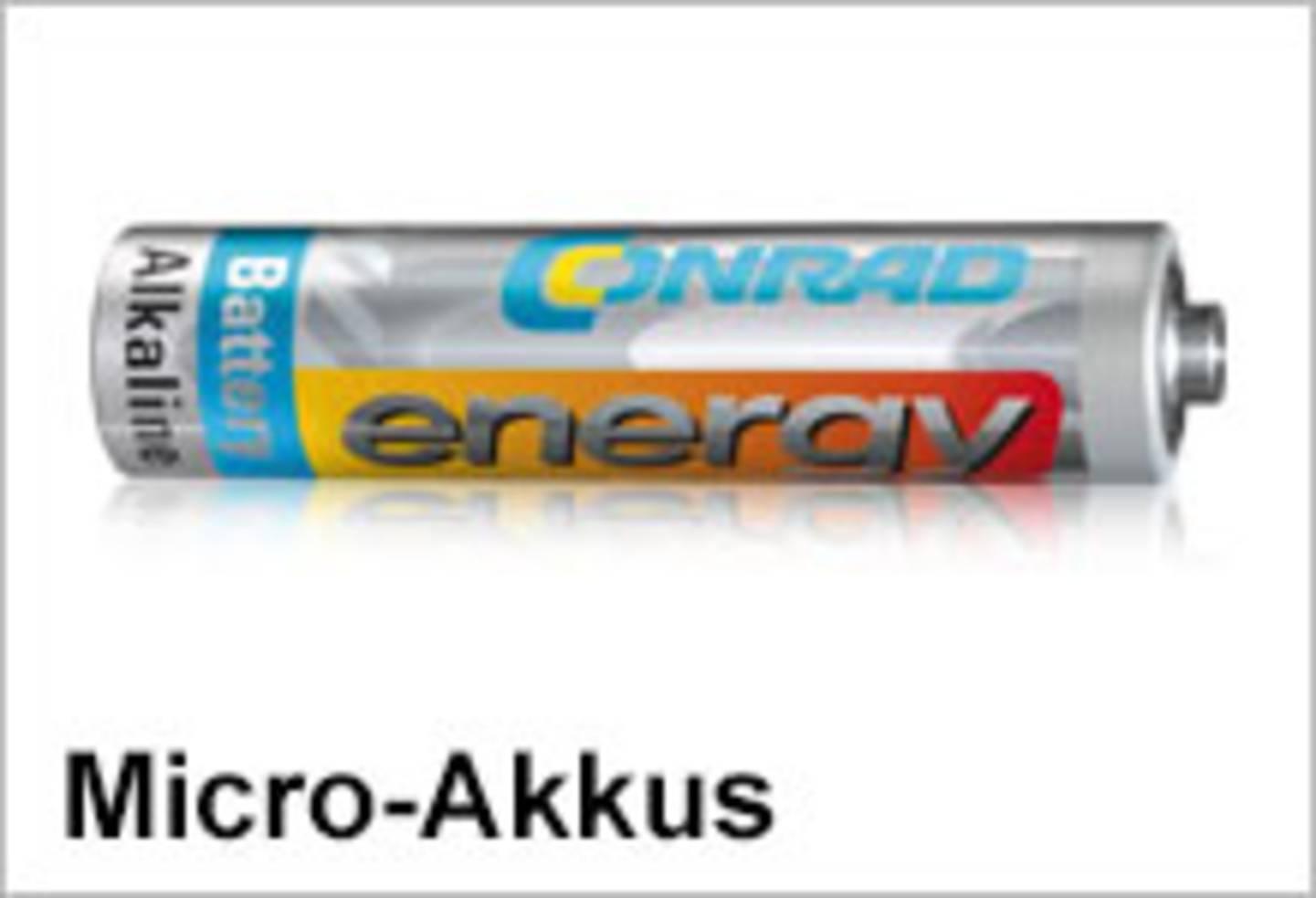Conrad Energy Micro-Akkus
