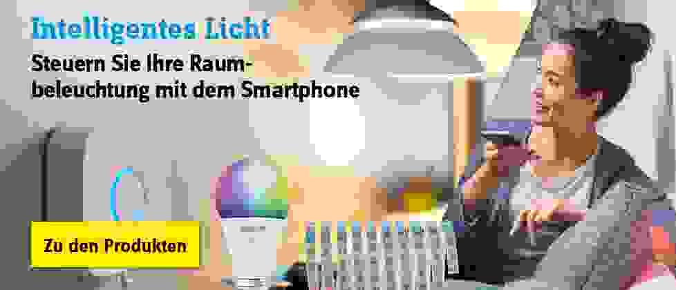 Intelligentes Licht - Zu den Produkten »