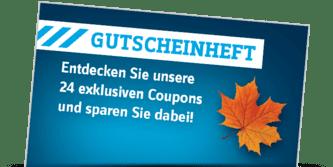 Gutscheinheft - 24 exklusive Coupons »