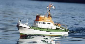 Verklighetstrogen räddningsbåt