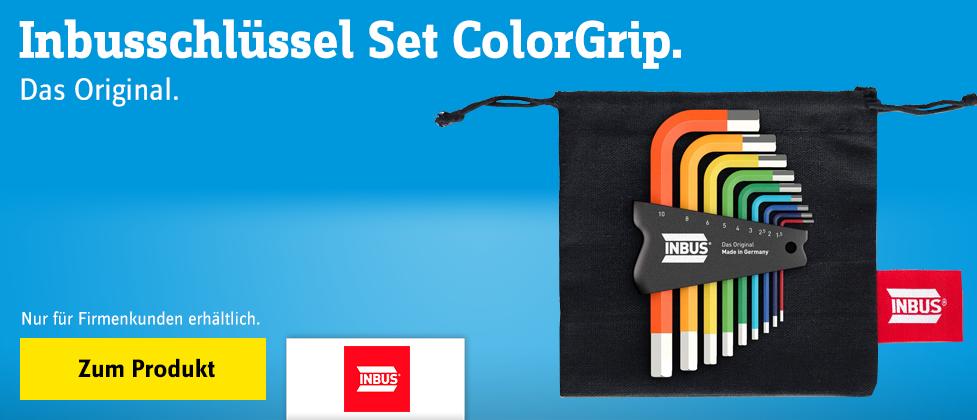 Inbus Inbusschlüssel Set ColorGrip
