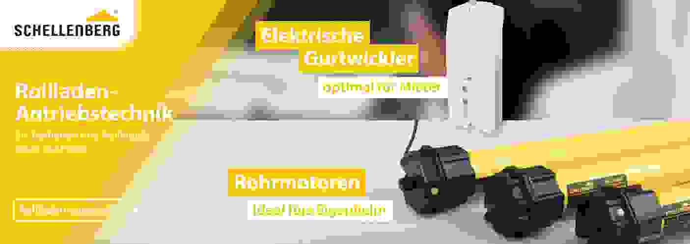 Schellenberg Rollladen Antriebstechnik