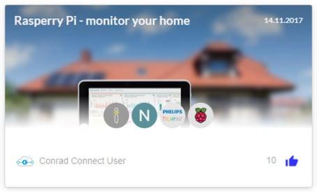 Hausüberwachung mit dem Raspberry Pi