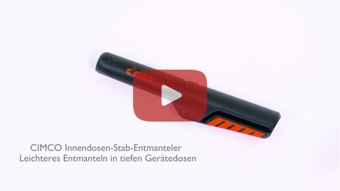CIMCO Innendosen-Stab-Entmanteler