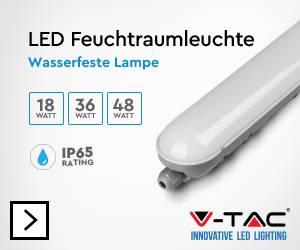 V-TAC VT-1548 LED-Feuchtraumleuchte