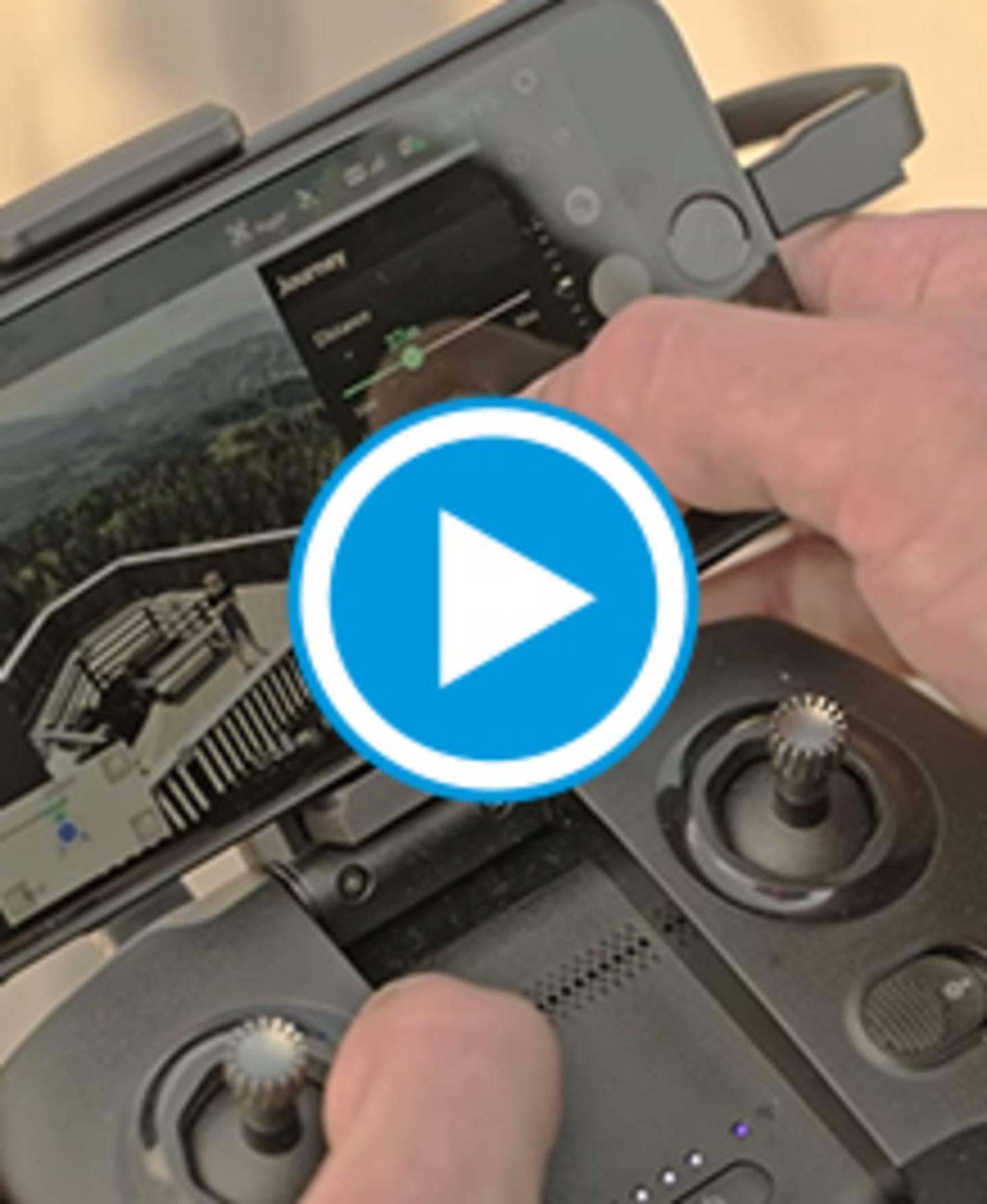 MantisQ - faltbare Kameradrohne - Video Journey Mode