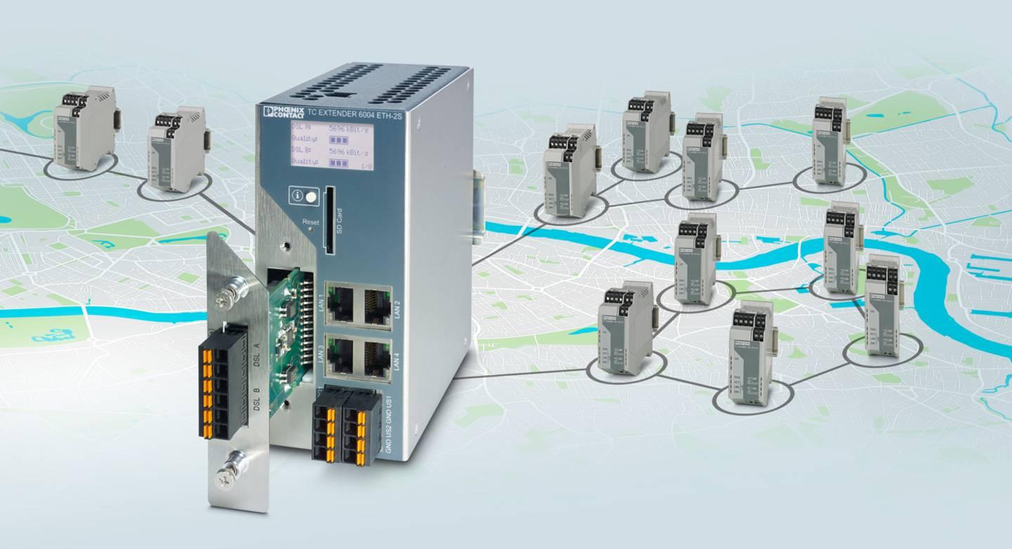 Ethernet-Extender-System