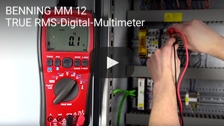 BENNING MM 12 – TRUE RMS-Digital-Multimeter