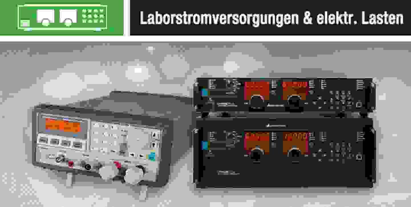 Laborstromversorgungen & elektrische Lasten