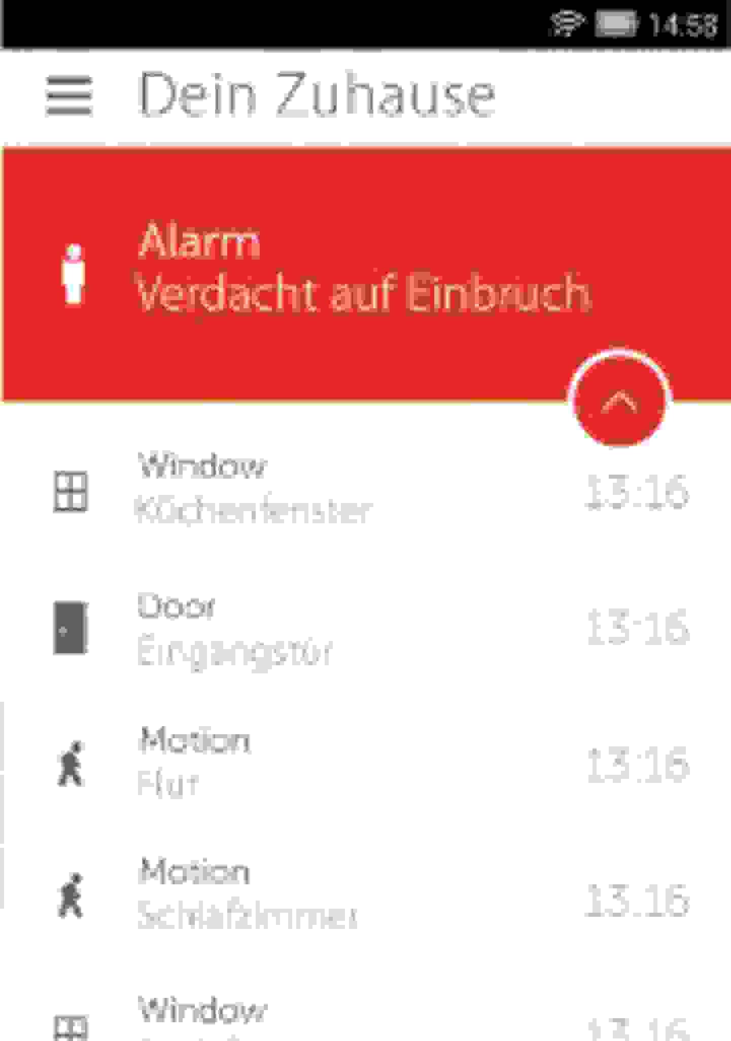 Alarmscreen