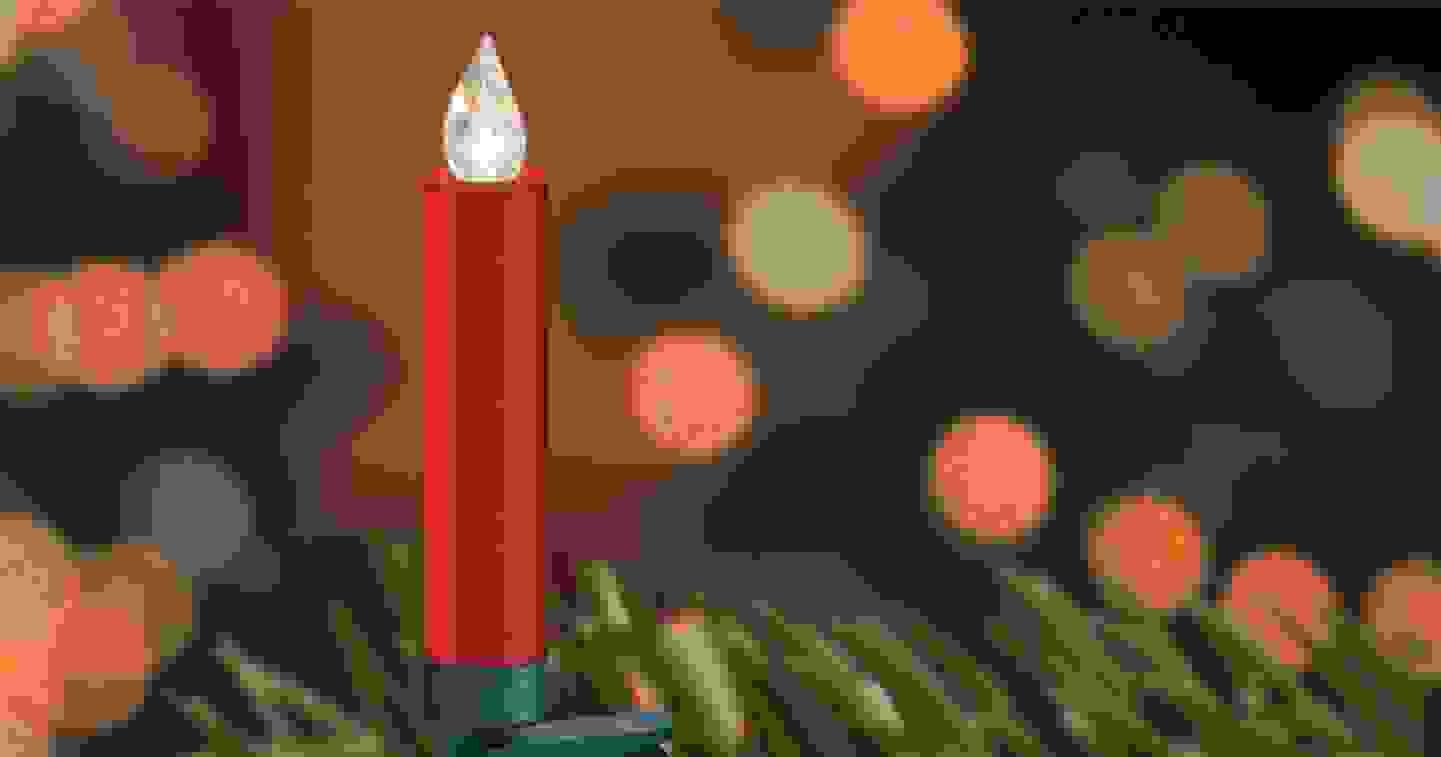 Krinner - LED-Kerze 12er Set »