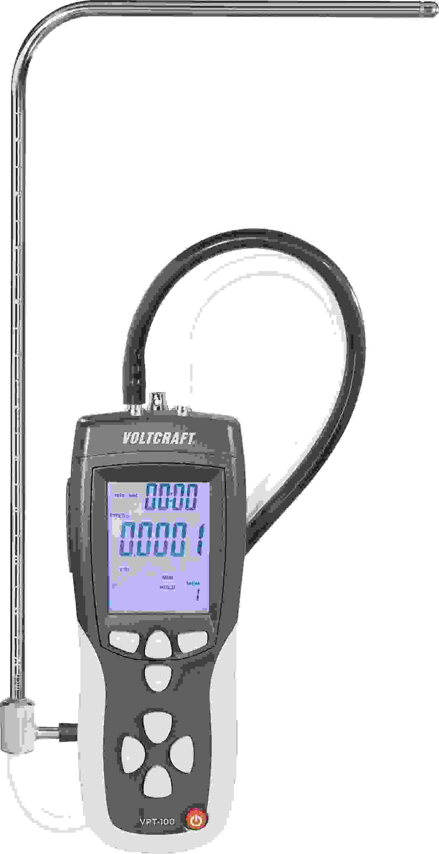 Anemometer mit Staudrucksonde