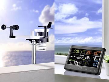 Wettermessgerät mit Display