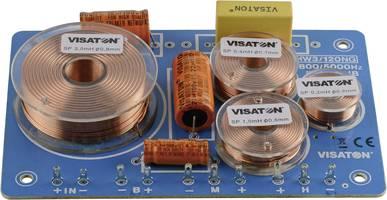 3-Wege-Frequenzweiche mit Kupferspulen und Tonfrequenz-Elkos