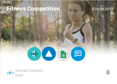 Smarte Fitness Competition - Conrad Connect Projekt