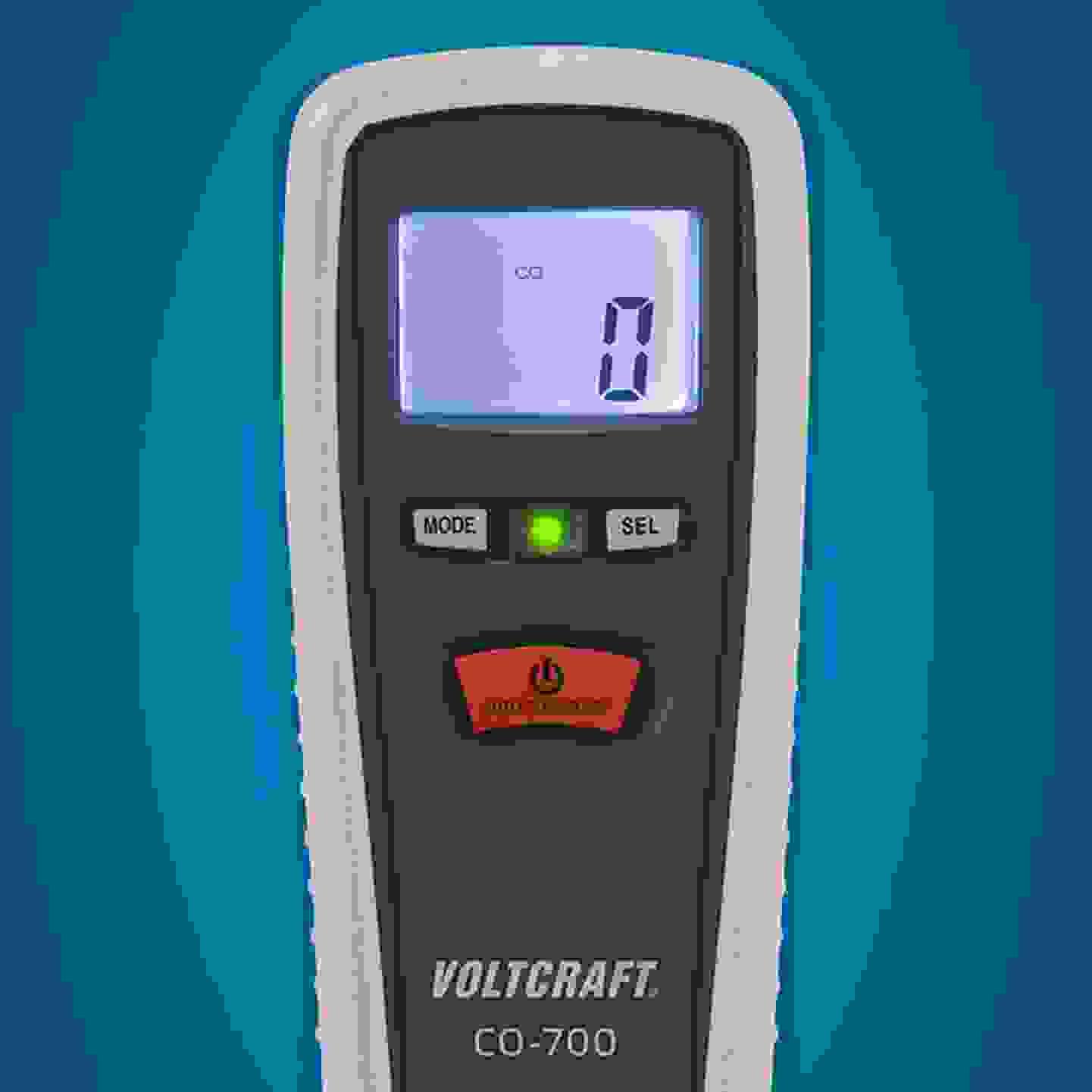 Voltcraft - CO-700 - Appareil de mesure de monoxyde de carbone »