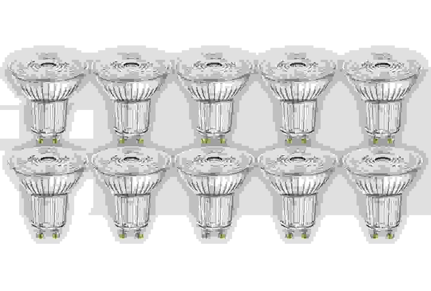 Osram - LED A+ GU10 à réflecteur 50 W blanc chaud »