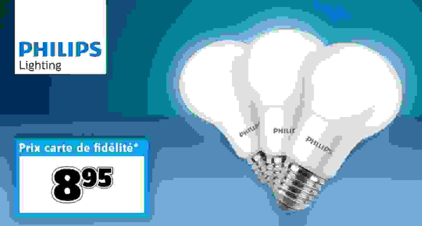Philips Lighting - Lot de 3 ampoules LED