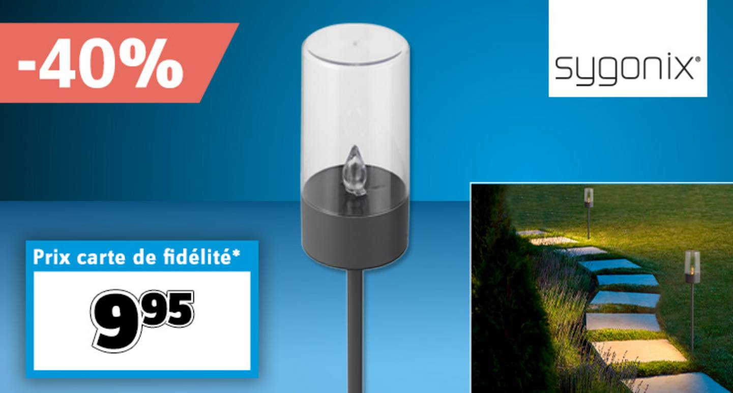 Sygonix - Lampe de jardin LED  SY-4677490   LED 0.07 »