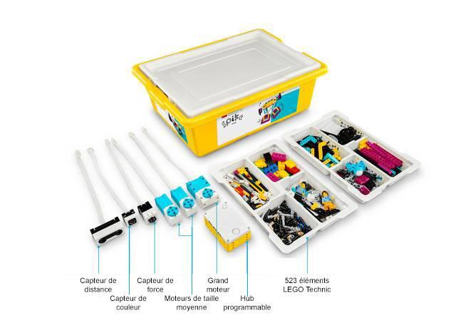 Set LEGO® Education SPIKE™ Prime