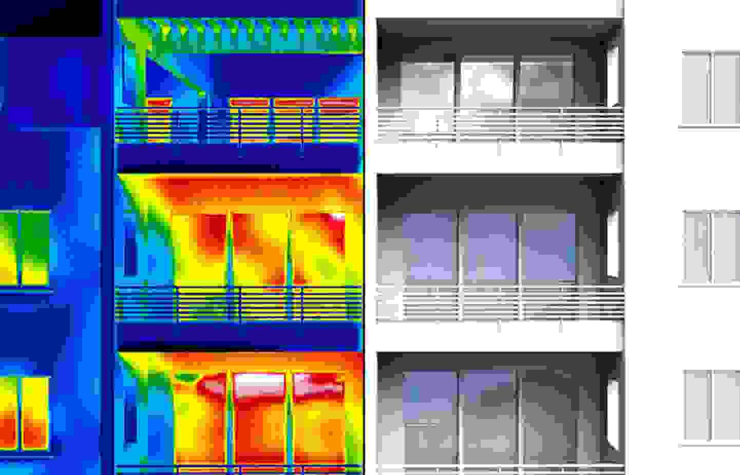 Déceler les ponts thermiques habituels dans les bâtiments