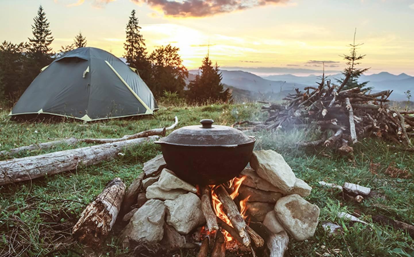 Activités de l'été - Ambiance feu de camp »