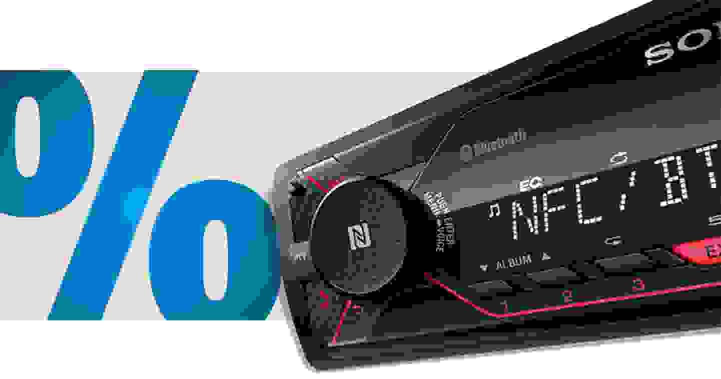 Sony DSX-A410BT - Autoradio avec fonction mains libres Bluetooth®