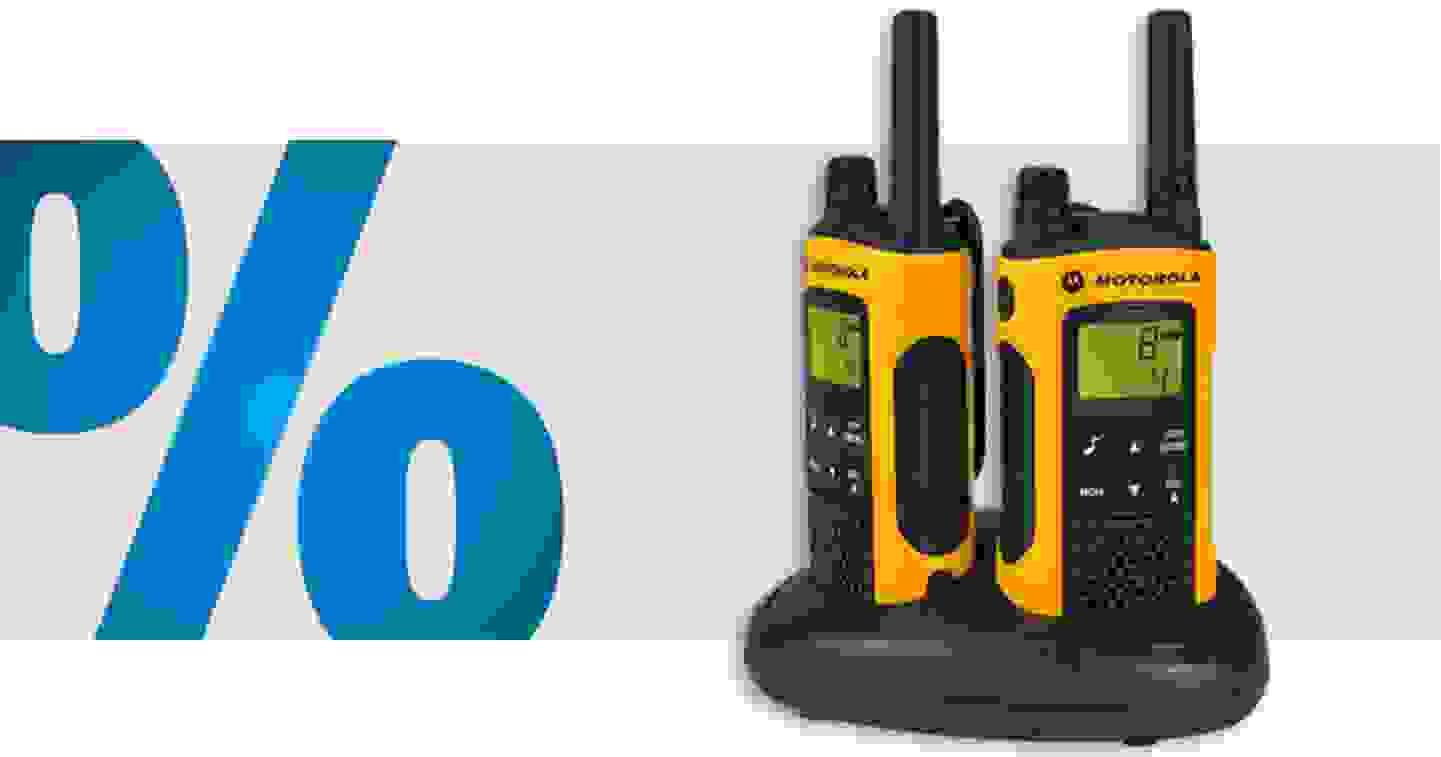 Motorola - TLKR T80 EXTREME | Lot de 2 talkie-walkie PMR »