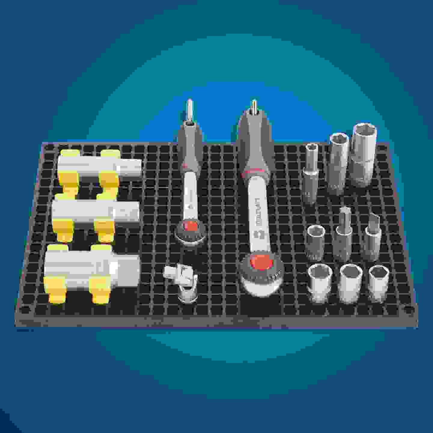 Toolcraft - Set panneaux perforés »