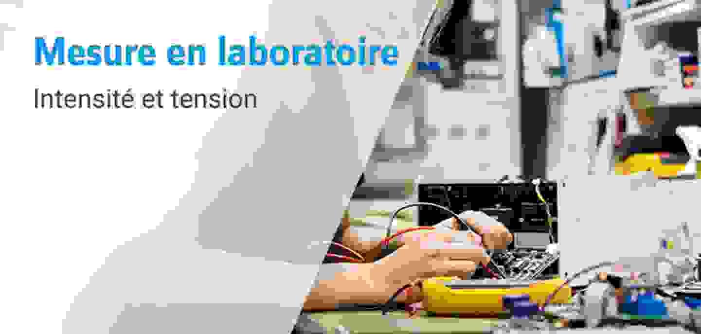 Mesure en laboratoire - Electricité au laboratoire avec Voltcraft »