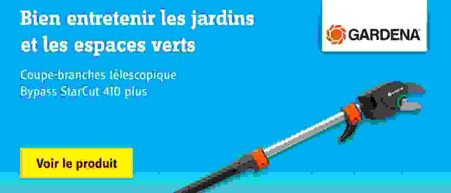 GARDENA - Coupe-branches télescopique Bypass StarCut 410 plus 12001-20