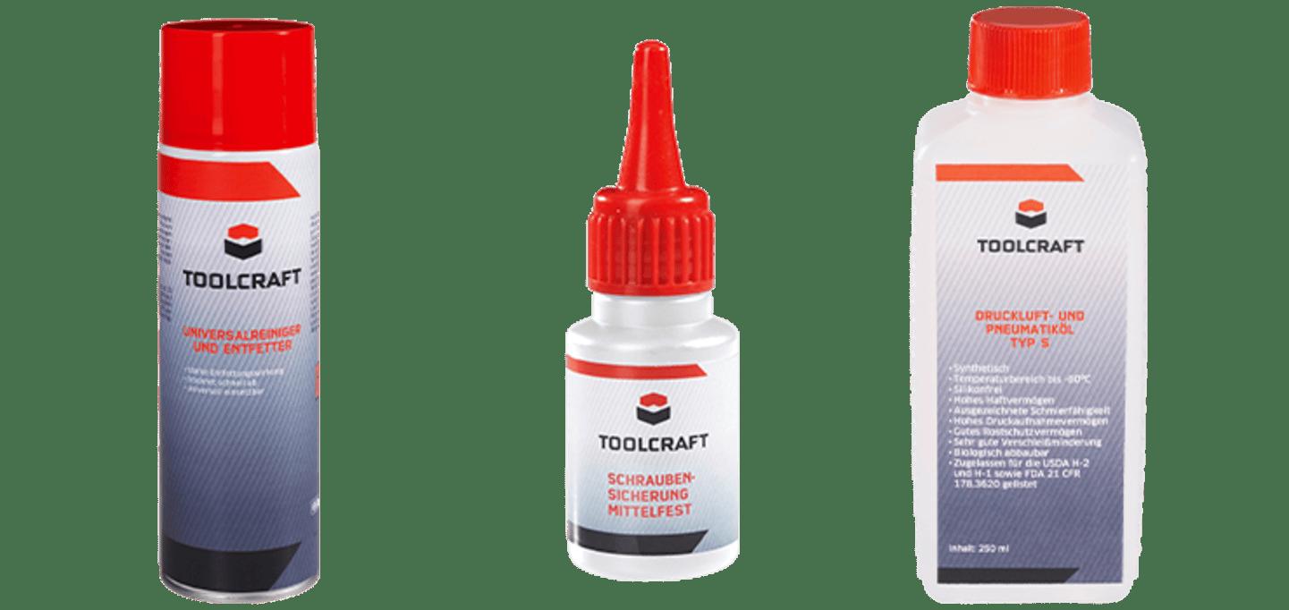 Toolcraft - Produits d'entretien et de nettoyage »