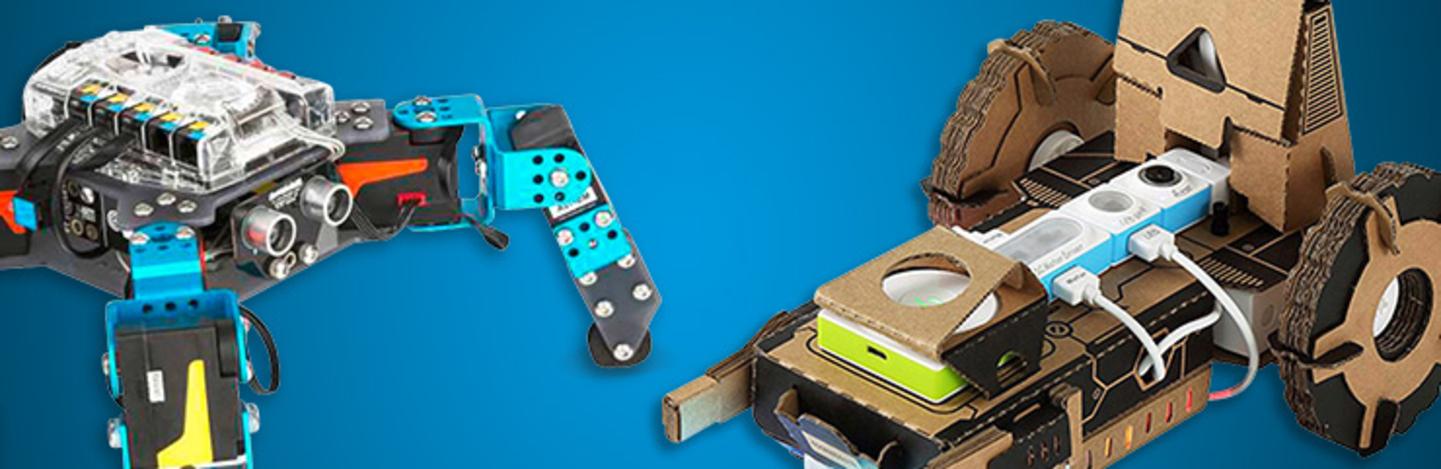 Makeblock  - Pour débuter dans le monde de la robotique et des microcontrôleurs »