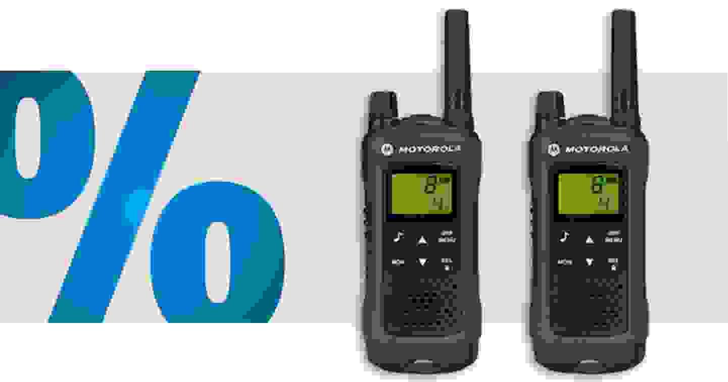 Motorola Solutions - TLKR T81 HUNTER | Lot de 2 talkie-walkie PMR »