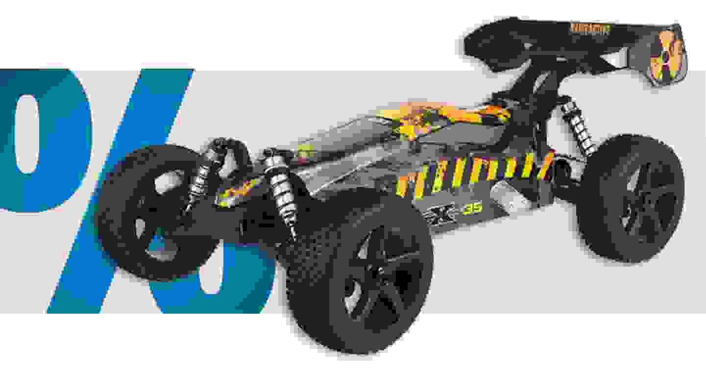 Reely - Generation X 3S Super Combo | moteur électrique brushless »